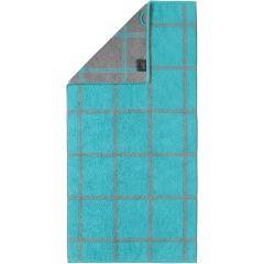 Cawö Two-Tone Grafik handdoeken 604.47