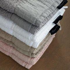Dommelin Manchester badstof handdoeken 50x100 (4 stuks)