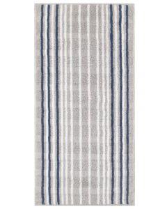 Cawö handdoeken Noblesse 1082 Lines 76 platin