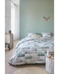 Ariadne at Home Colours dekbedovertrek Blauw Groen