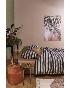 At Home dekbedovertrek Contrast Zwart/Wit