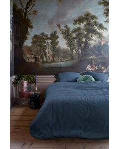 At Home dekbedovertrek Easy Blauw