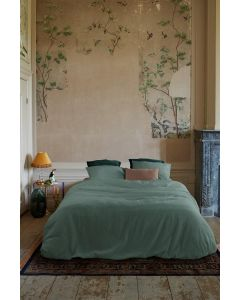 At Home dekbedovertrek Easy Groen