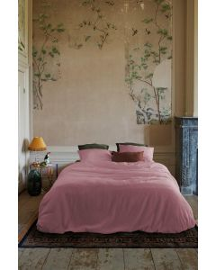 At Home dekbedovertrek Easy Roze
