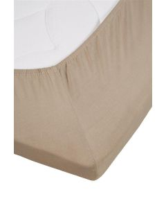 Auping Topper Hoeslaken Jersey Lycra Taupe