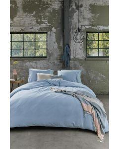 Beddinghouse Care dekbedovertrek Organic Basic Blauw (Duurzaam)
