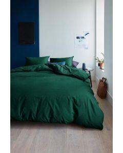 Beddinghouse Care dekbedovertrek Organic Basic Donker Groen (Duurzaam)