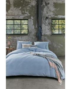 Beddinghouse Basic dekbedovertrek Blauw