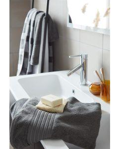 Beddinghouse Sheer handdoek katoen Antraciet