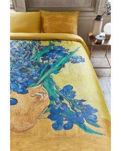 Beddinghouse Van Gogh Museum Irises dekbedovertrek Geel