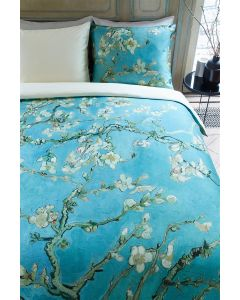 Beddinghouse Van Gogh Museum Almond BLossom dekbedovertrek Blauw