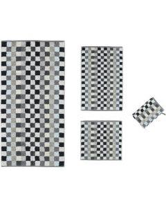 Cawo Unique washandjes / gastendoekjes Cubes 942