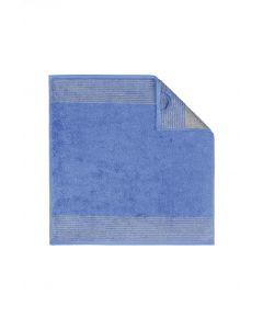 Cawö keukendoek 590 Two-Tone 17 blauw 4 stuks
