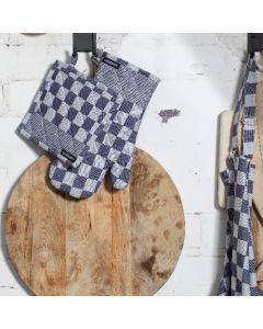 DDDDD Barbeque 2 ovenwanten Blauw