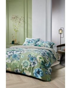 Kardol Ornate dekbedovertrek Blauw groen