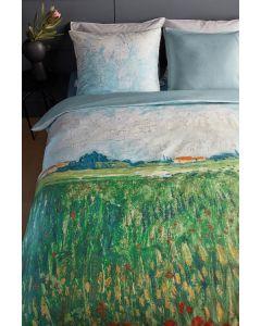 Beddinghouse Van Gogh Filed with Poppies dekbedovertrek Groen