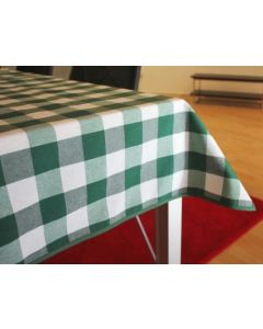 Vichy katoenen boerenbont tafellaken Groen