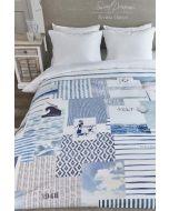 Riviera Maison Sylt Beach dekbedovertrek Blauw