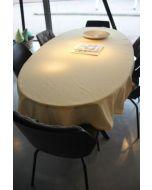 Vichy katoenen boerenbont tafellaken Geel klein